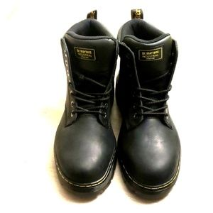 NWT Dr. Martens Steel Toe Slip Resistant Boots